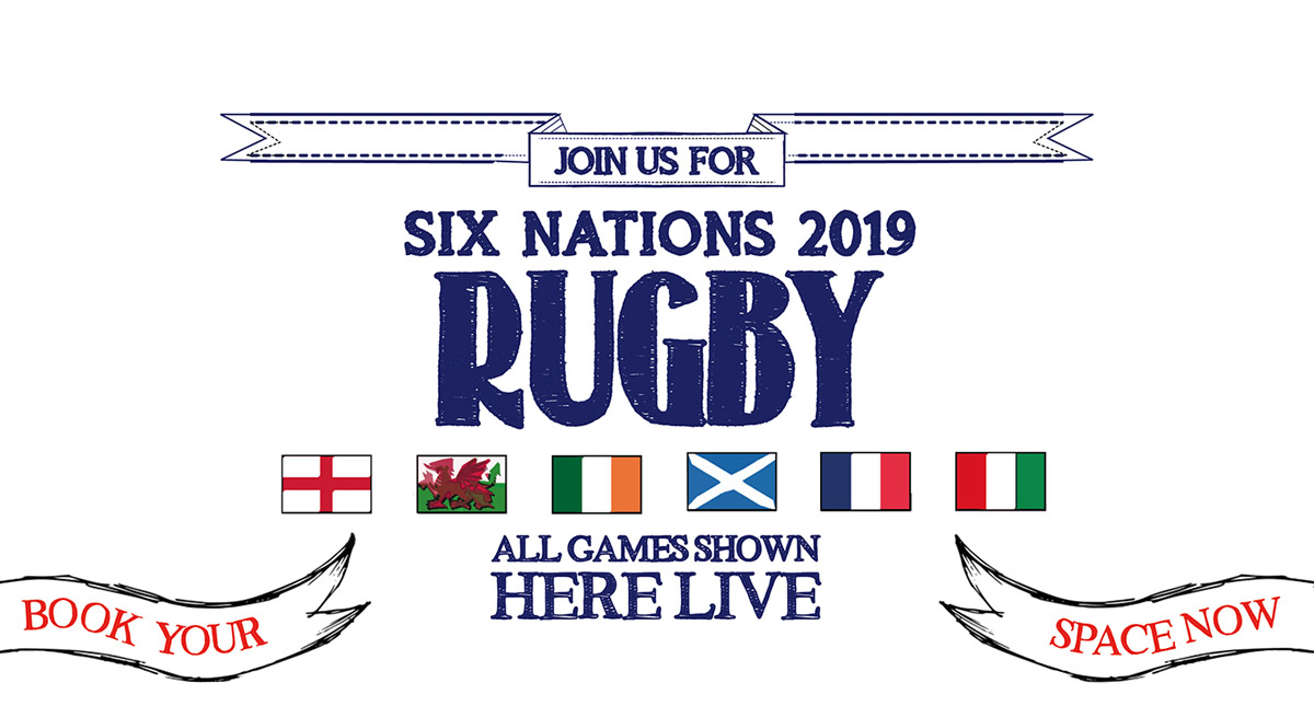 Watch the 6 Nations at The Champion in London