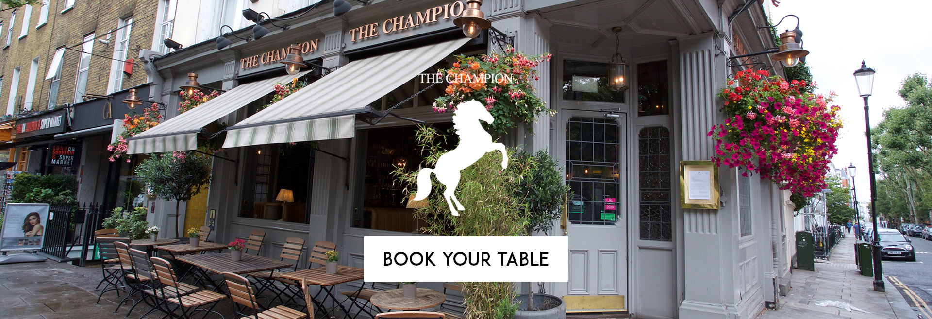 Book Your Table at The Champion